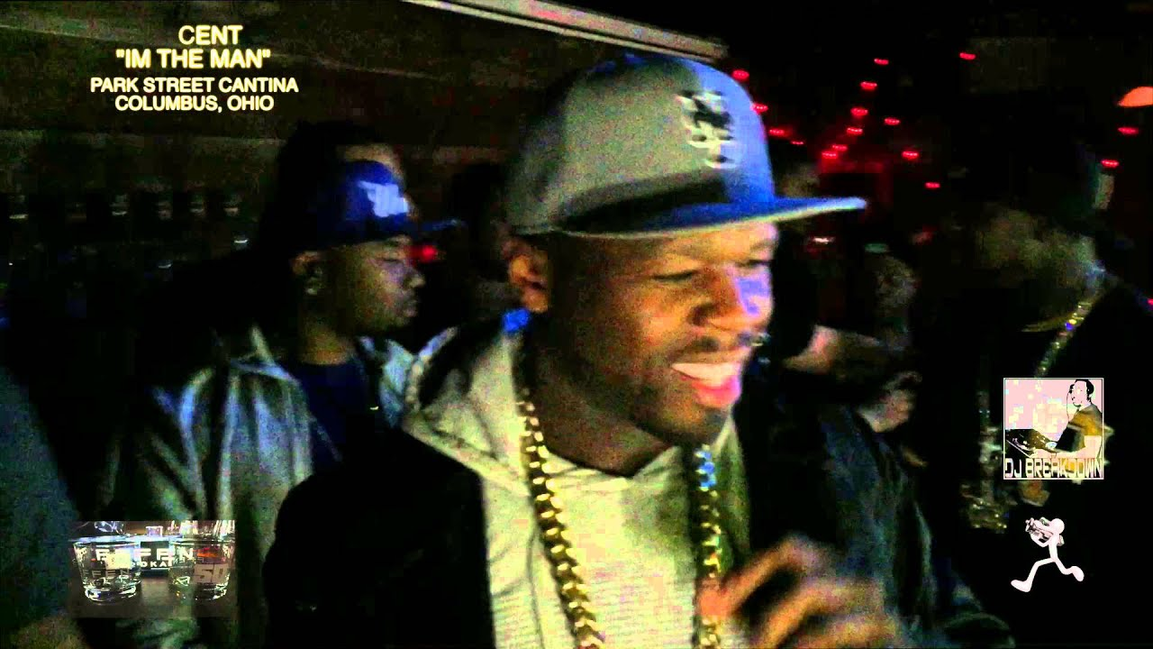 50 Cent Park Street Cantina Performance Clips Columbus Ohio Youtube