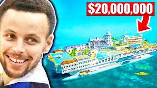 CRAZIEST Purchases NBA Players Ever Made.. (Stephen Curry, Michael Jordan, Kobe Bryant)
