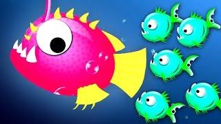 Oceanar.io MONSTER FISH FIGHT // NEW OCEAN IO GAME