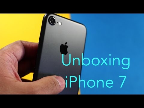 iphone 7 unboxing iphone 7 unboxing matte black 11566