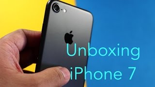 iPhone 7 UNBOXING | Matte Black