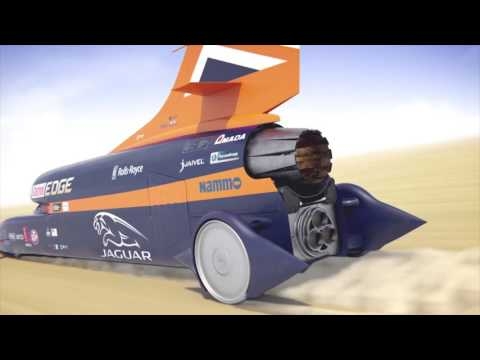 How to propel a car to 1,000 mph