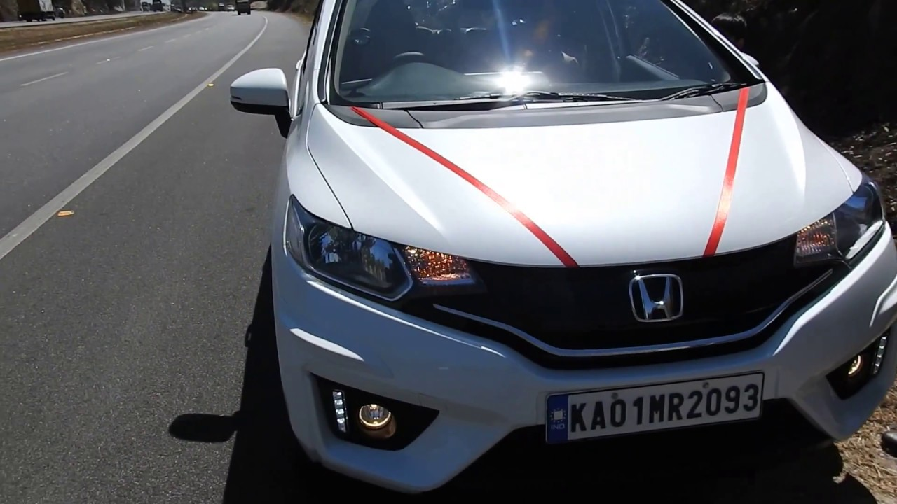 Honda Jazz Fit 2018 IVTEC review Orchid Pearl White - YouTube