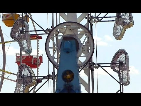 Terror at the carnival: Teen injured when door opens on ...