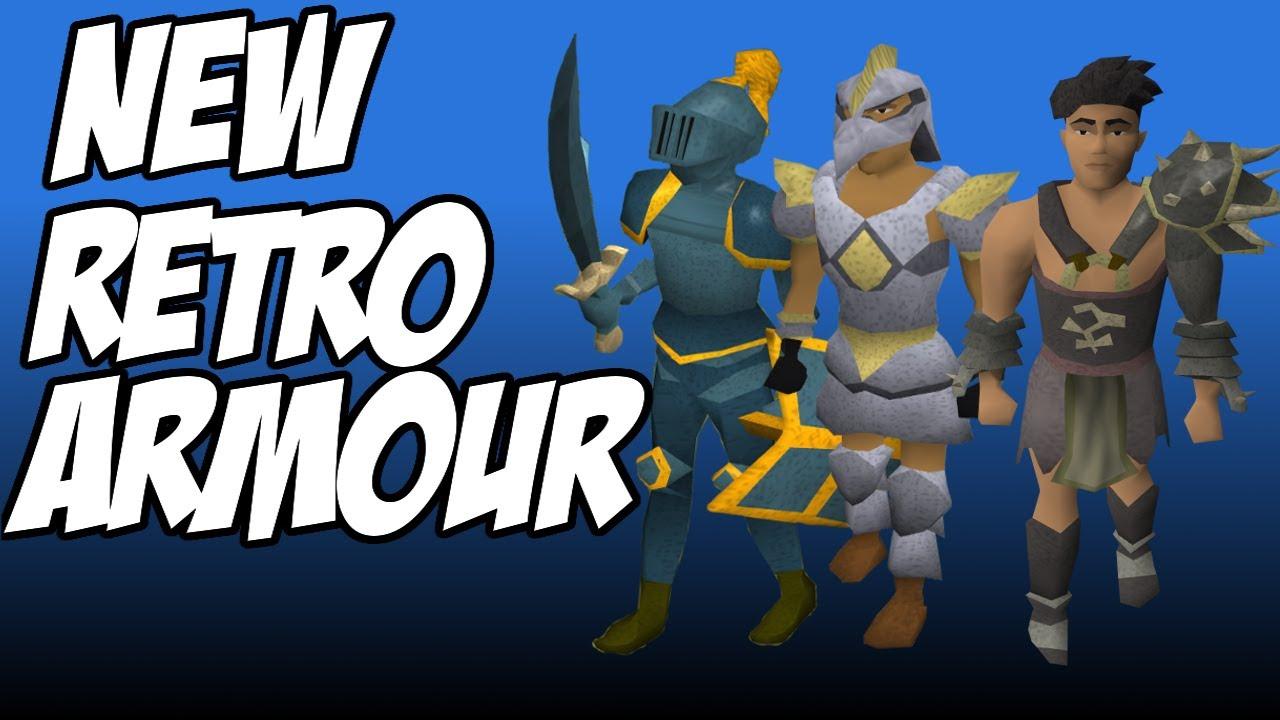 Runescapenew Retro Armour Old Look Of Bandosarmarune Youtube