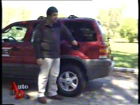 FORD ESCAPE 2.0 XLT 4X4 (2001). TEST AUTO AL DÍA.