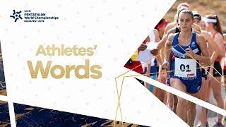Athlete's Words | UIPM 2019 Pentathlon World Championships Budapest HUN