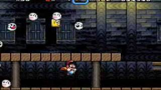 Super Mario World - Vanilla Ghost House
