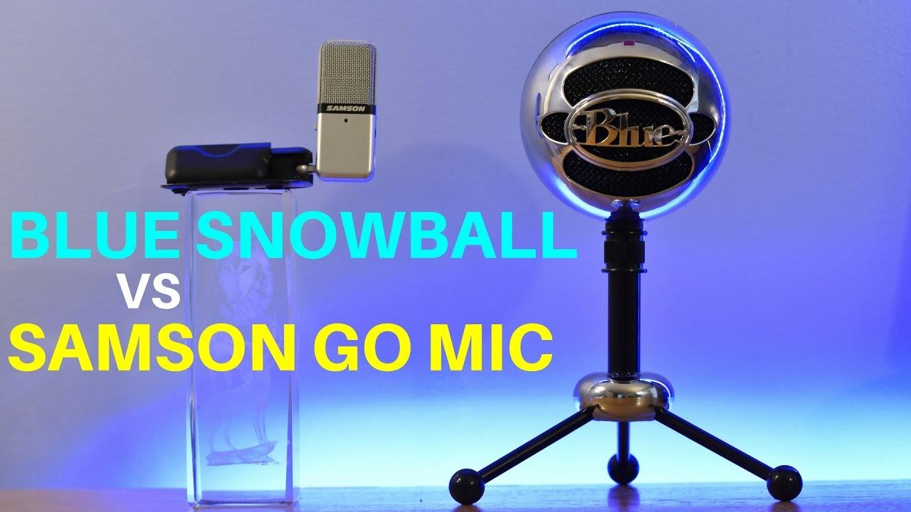 best budget usb microphone blue snowball vs samson go mic youtube. Black Bedroom Furniture Sets. Home Design Ideas