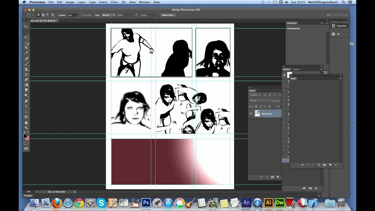 How To Create A Book Cover Using Gimp ~ Create a comic book page in photoshop using people face
