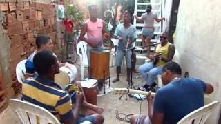 Grupo Sem Licença - Ai foi que barraco desabou & Domingo, samba (Ensaio)