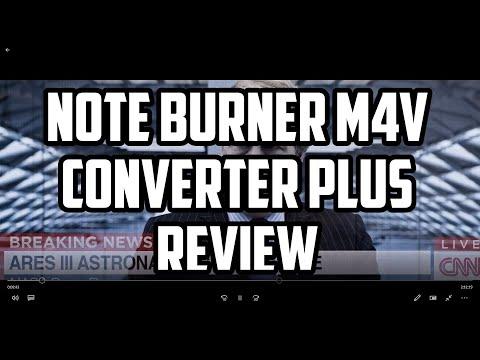 Noteburner M4V Converter Plus Review