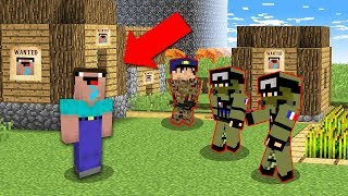 Minecraft NOOB vs PRO: NOOB IS NOW CRAZY AND DANGEROUS! 100% trolling