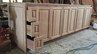 Amazing Woodworking Skills Extremely Smart Carpenter - How To Build Under Kitchen Cabinets, DIY
