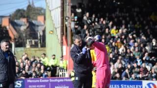Exeter v Argyle - Matchday Moments