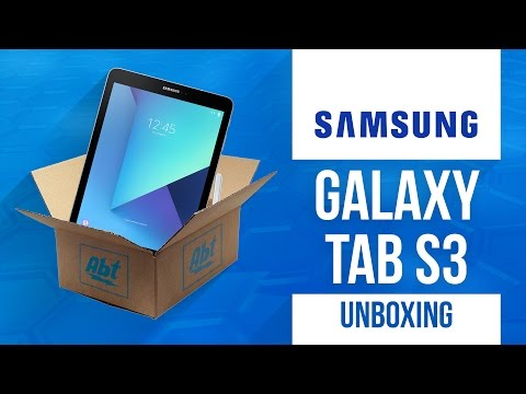 Unboxing: Samsung Galaxy Tab S3