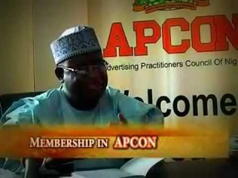 What is APCON - Advertising Practitioners Council of Nigeria  - Series 1