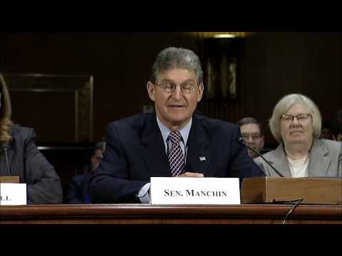 Manchin Introduces Sylvia Mathews Burwell at Nomination Hearing
