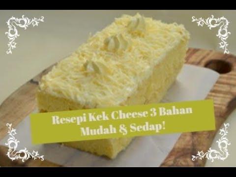 Cara Buat Kek Cheese Yang Mudah Sedap