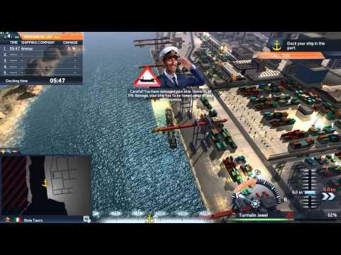لعبة : TransOcean #الشحن البحري