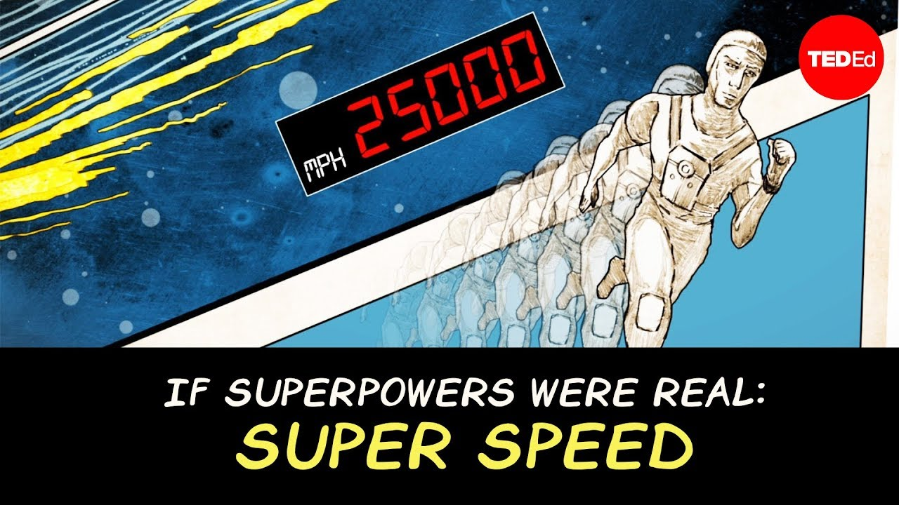 What if superpowers were real? A series of TED-Ed lessons