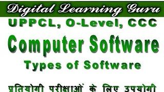 What is Computer Software in Hindi ? | Types Of Software | By Manjay Singh