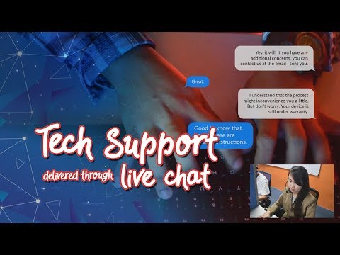 Sample Conversation - Live Chat Tech Support