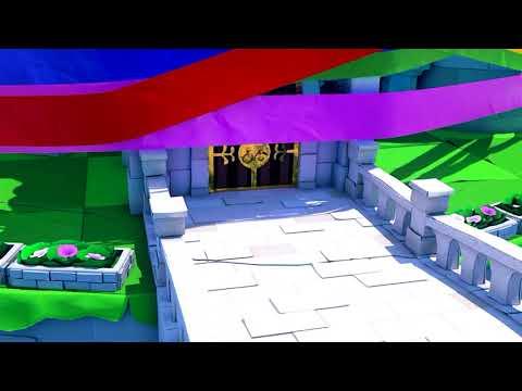 Paper Mario: The Origami King – Castle Theft Scene