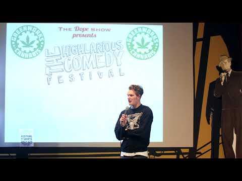 Alex Avery @ Highlarious Comedy Festival 2018 : Willem DaPhobic