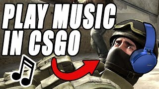 CSGO How to Play Music In Game Through Microphone (Tutorial 2018)