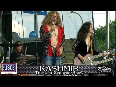 KASHMIR, Led Zeppelin Show-Benefit USO of IL-Ed Napleton Classic Car Show & Concert 2017 Part 5