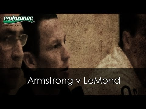 Armstrong v LeMond - Las Vegas Press Conference