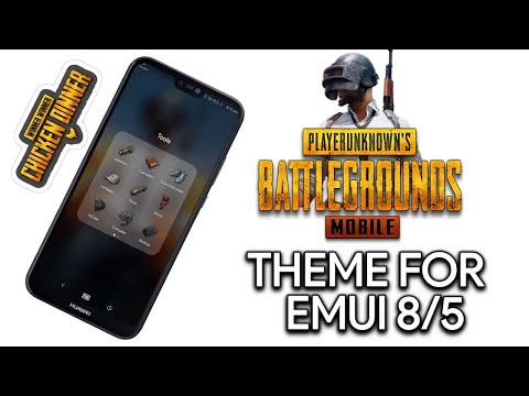 PUBG Mobile Theme For EMUI 5/8||Special Edition EMUI Theme For PUBG Lovers|| Get It Now