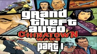 Grand Theft Auto: Chinatown Wars Walkthrough Part 1 PPSSPP HD 1080p No Commentary