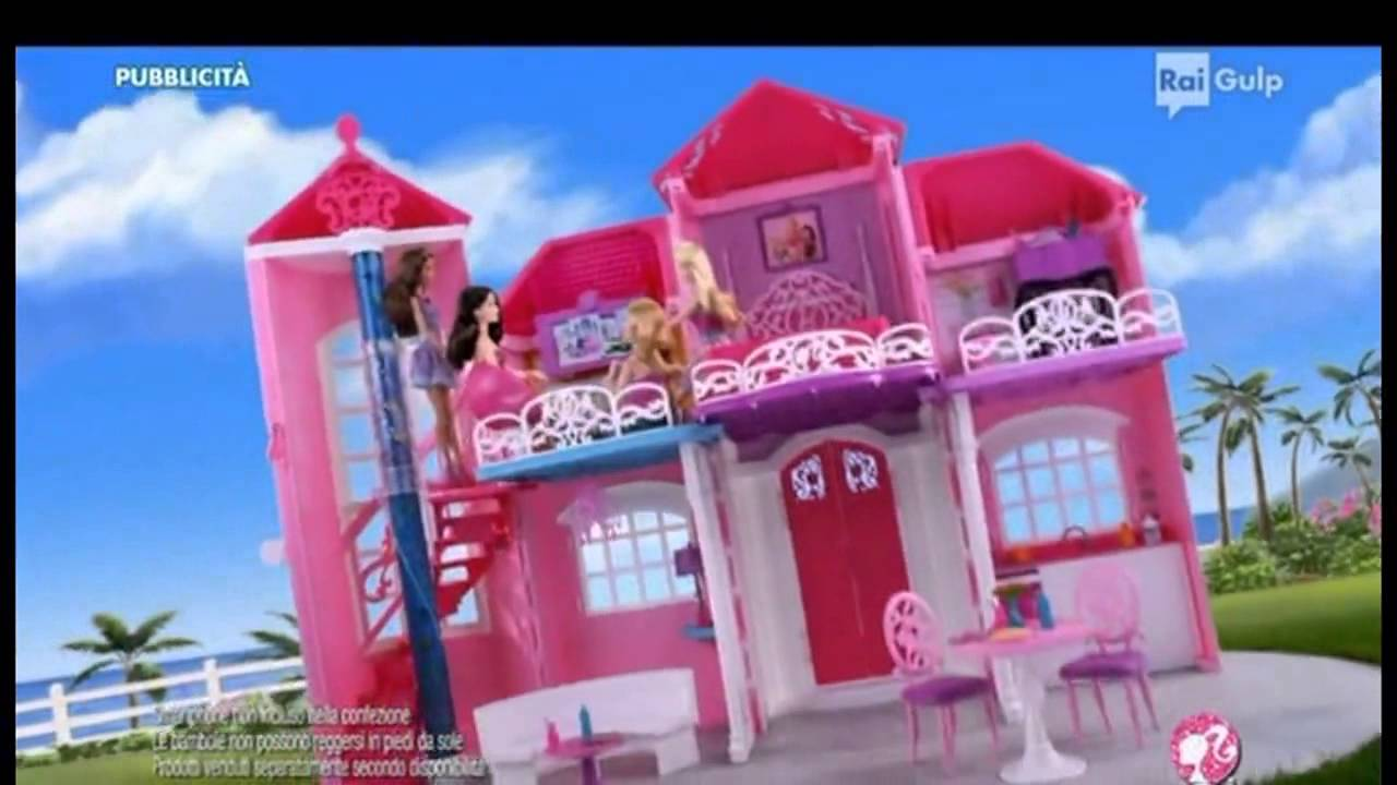 Barbie villa sull 39 oceano spot 2014 youtube for Casa di barbie youtube