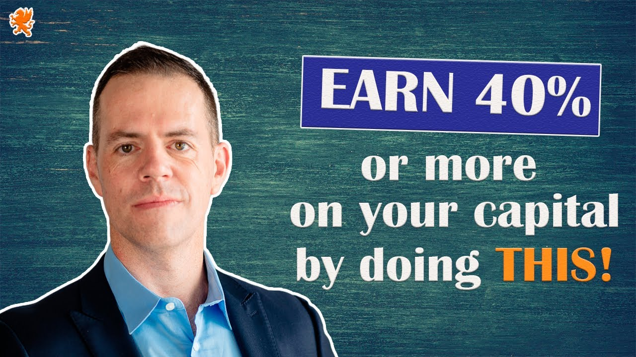 Earn 40% or more on your capital by doing this!