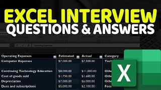 Gambar cover Excel Test for Job Interview: Questions and Answers [+XLSX Download]