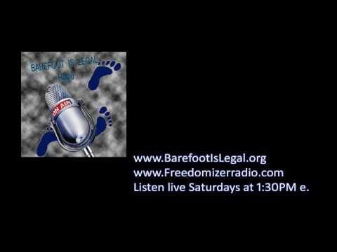 Barefoot Is Legal Radio Show 2/18/2017 Broadcast Archive