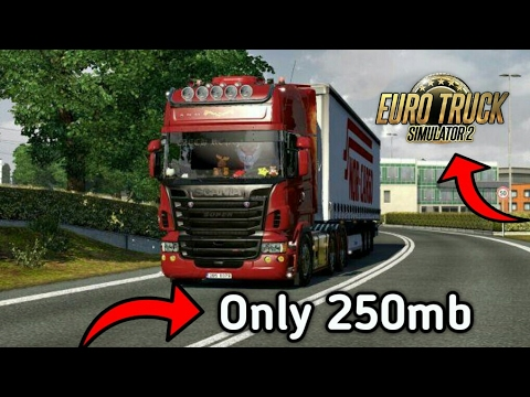 Download Euro Truck Simulator 2 On Android Only 250 Mb Youtube