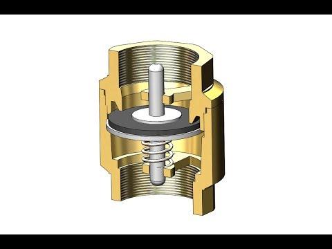 Принцип работы обратного клапана. Как устроен водопроводный клапан?