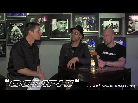 UnArt Live TV - Interview Oomph! , Zeche Bochum 2012