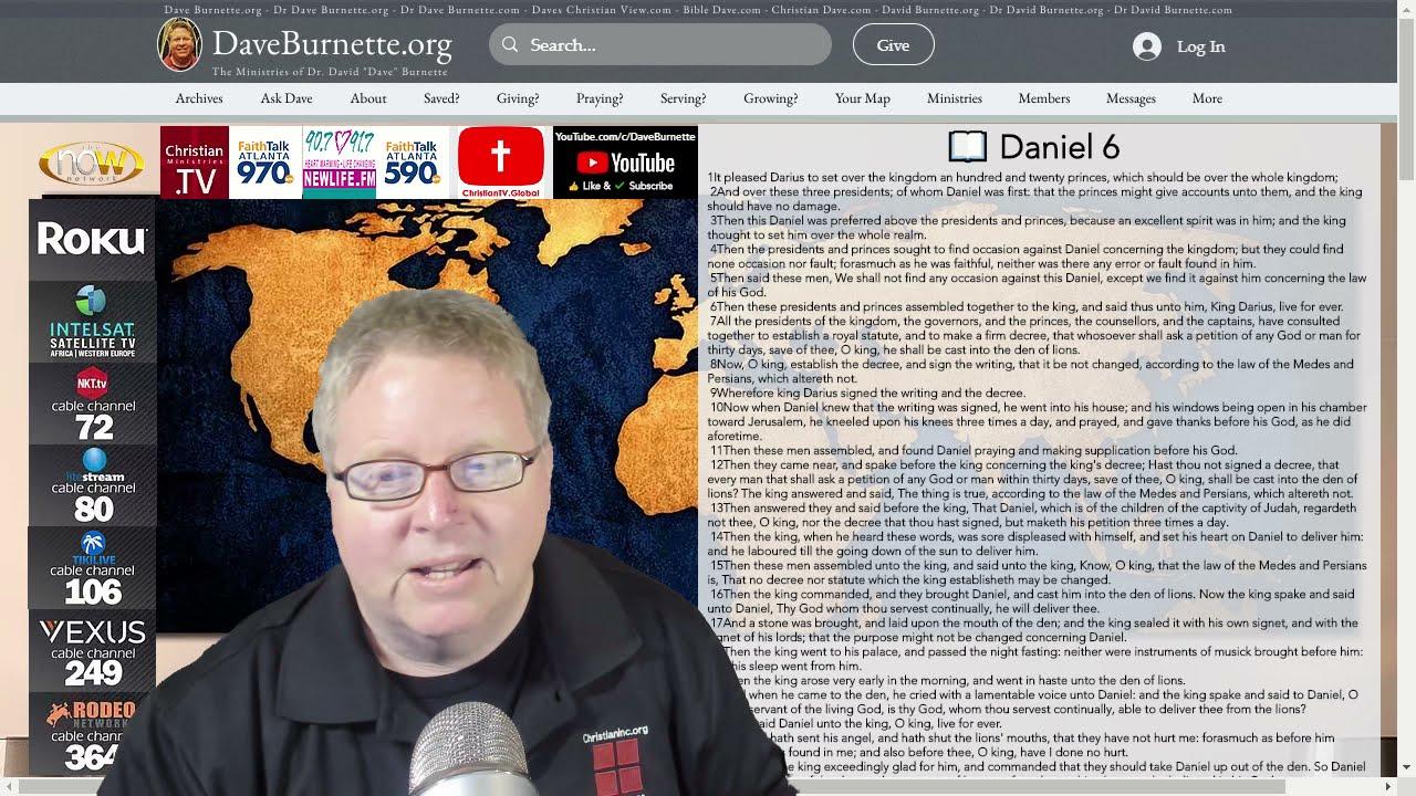 Daniel 6 ✒️ The Lions Den