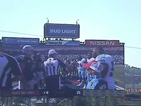 Raiders at titans coin toss