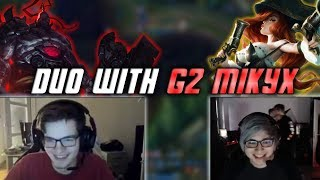 Duo with G2 Mikyx: The MF + Sion Wombo Combo (EU Bootcamp)