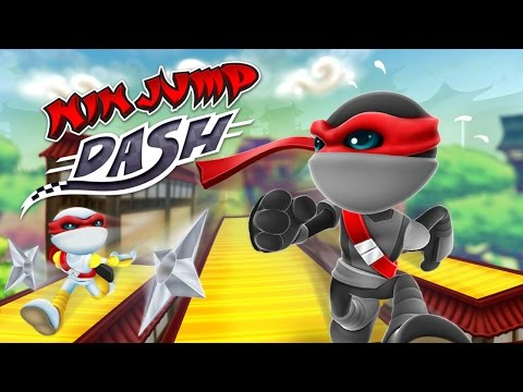 NinJump Dash (by Backflip Studios) - iOS / Android - HD (Sneak Peek) Gameplay Trailer