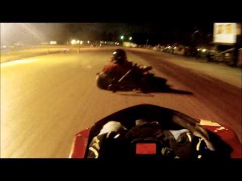 Malik Koonce: Tri County Kartway Mid-State Series Race #1 3-23-13