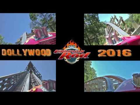 Dollywood Lightning Rod Front Row POV with the Pivothead Durango  - 2016