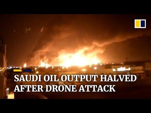 Saudi Arabia's oil output decimated by drone attack