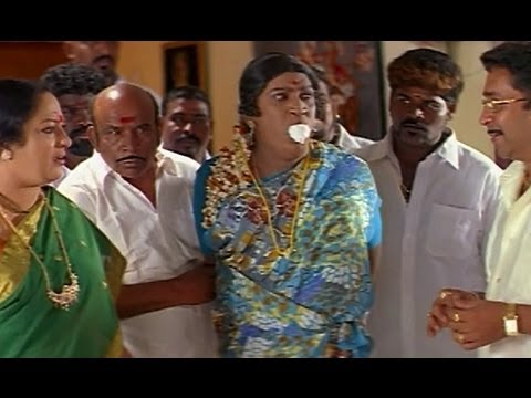 Vadivelu dresses as a lady and saves Anuya - Nagaram
