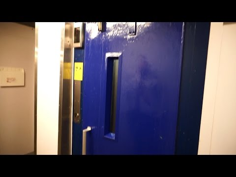 Tour of the 1981 Valmet-Schlieren traction elevators (mb Vinga Hiss) @ Cruiseferry M/S Stena Saga
